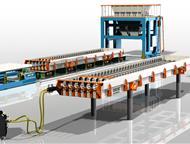 Линия по производству пустотных плит ПК Компания «Интэк» занимается производством технологических линий, бетонных заводов, бетоносмесителей, металлофо, Бийск - Строительные материалы