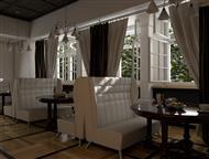 Диваны для кафе и ресторанов Мы имеем возможность предложить Вам широкий ассортимент вариантов отделки: мебельная ткань, экокожа, натуральная кожа, пе, Иркутск - Другие предметы интерьера