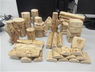 Красноярск: Кривые деревянные кубики Кубики имеют тройную шлифовку. Пропитаны финским воском. Изготовляются из кедра, сосны, черемухи, березы, рябины, осины, ольх