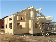 Москва: Выполнение всех видов работ малоэтажного строительства Строительство и отделка каркасных домов. Возведение домов из кирпича, блока, бруса, бревна, бан