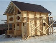 Строительство деревянных домов Услуги плотников круглый год.   Коллектив нашей строительной бригады специализируется на строительстве и отделке деревя, Нижний Новгород - Строительство домов, коттеджей