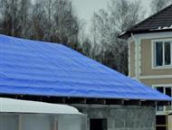 Тент тарпаулин полог размеры заказчика Компания НовоТарп предлагает защитные тарпаулиновые тенты и пологи   размером от 2х2 метра до любых размеров, к, Омск - Строительные материалы
