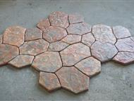 Тротуарная плитка Производим и реализуем тротуарные плитки различных форм и расцветок. Для изготовления используются только высококачественная продукц, Уфа - Отделочные материалы