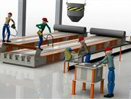Владивосток: Технологическая линия по производству световых опор св Производственное предприятие Интэк производит и поставляет технологические линии под ключ для