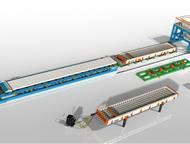 Волгоград: Линия по производству пустотных плит ПК Компания «Интэк» занимается производством технологических линий, бетонных заводов, бетоносмесителей, металлофо